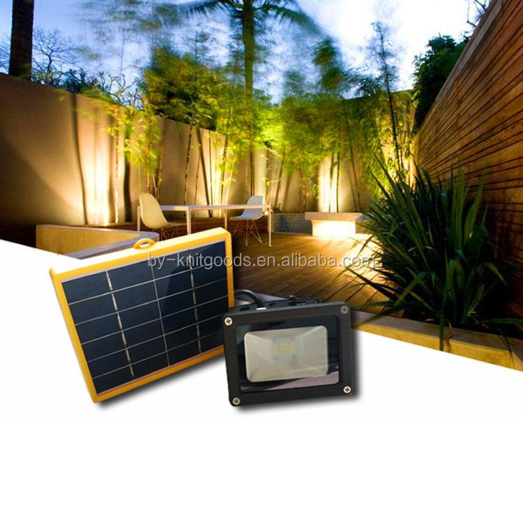 Home garden 3 W power 2835LED*12PCS lawn led floodlight with solar panel