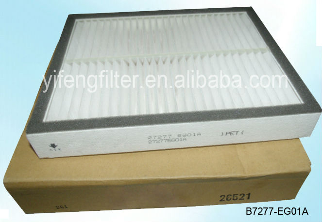 Cabin Air Filter B7277-EG01A for Nissan GT-R