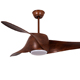 Luxury decorative remote control modern light led ceiling fan