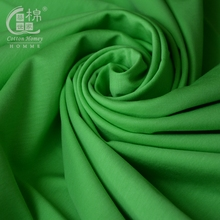 Wholesale Mercerized 100 Cotton Fabric Rolls Interlock Knitting Textile Cotton Combed for Garment