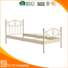 Hot !!! Alibaba high quality Germany Single Metal Bed