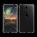 Full Clear Soft TPU Case For Nokia 6 2018 / 6 2nd Gen Cover