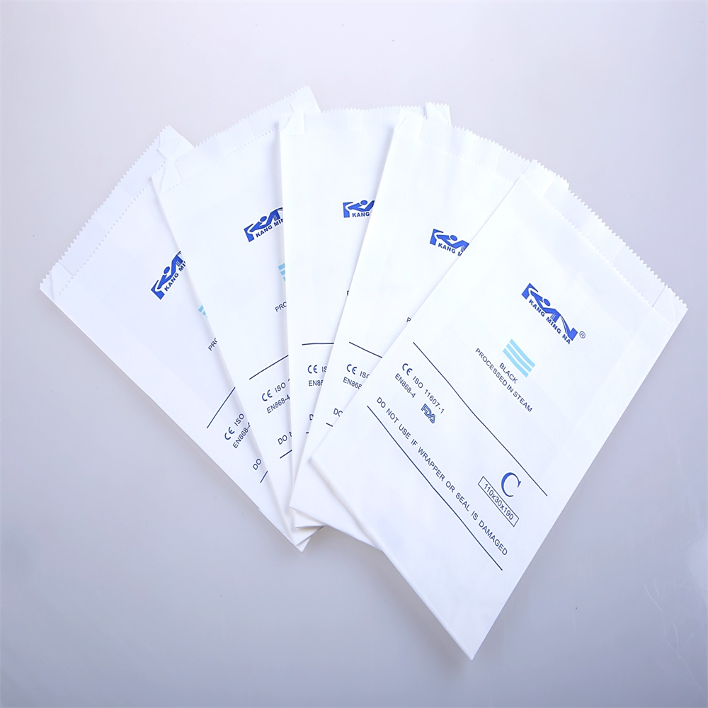 heat sealing autoclave gusseted sterilization paper bags