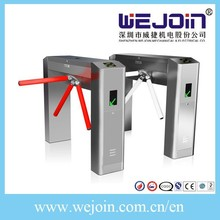 Automatic Tripod Turnstile Gate With Drop-off Arm And Stainless Steel Housing