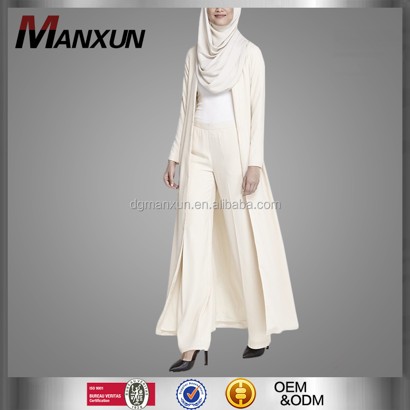 2016 latest fashion maxi overcoat muslim women trendy long sleeve abaya modern summer spring dubai new style clothing