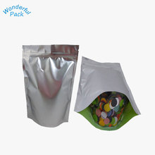 custom mylar bags aluminum foil packaging bag plastic zip lock bags with heat seal