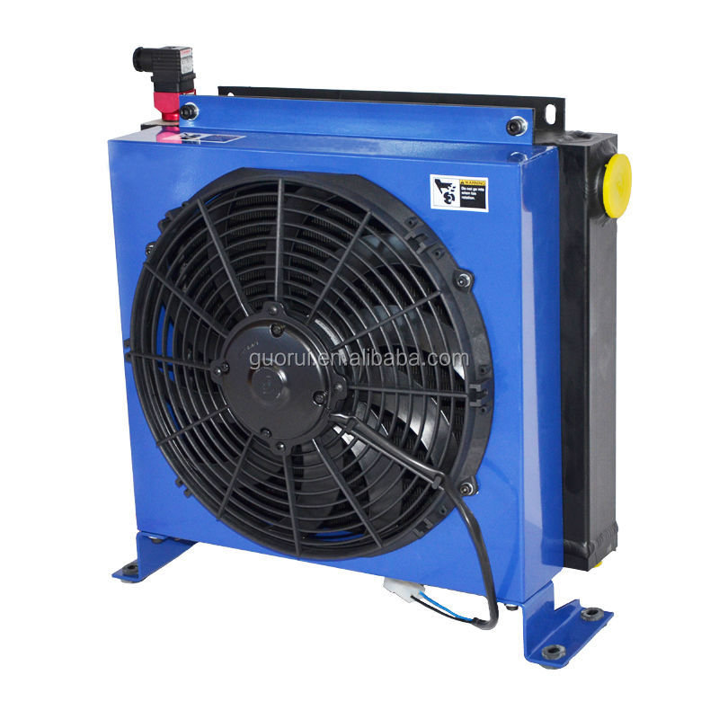 oil cooler with fan used in hydraulic system