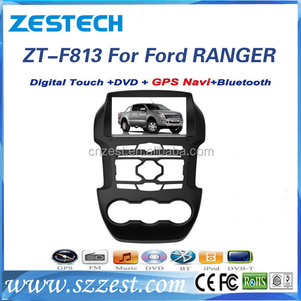 Windows CE 6.0 system 8 inch 2 din car dvd gps navigator for Ford Ranger car multimedia system with car audio system GPS DVD 3G