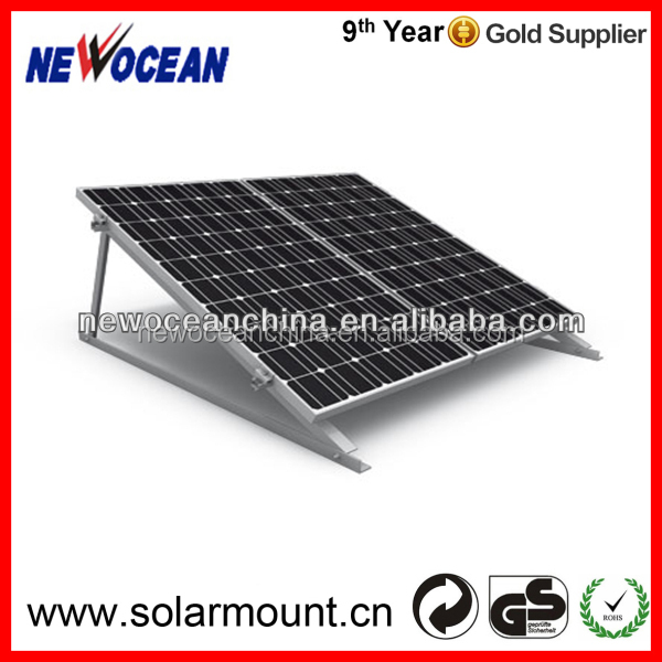 aluminium solar panel mounting structure and solar mounting/solar system