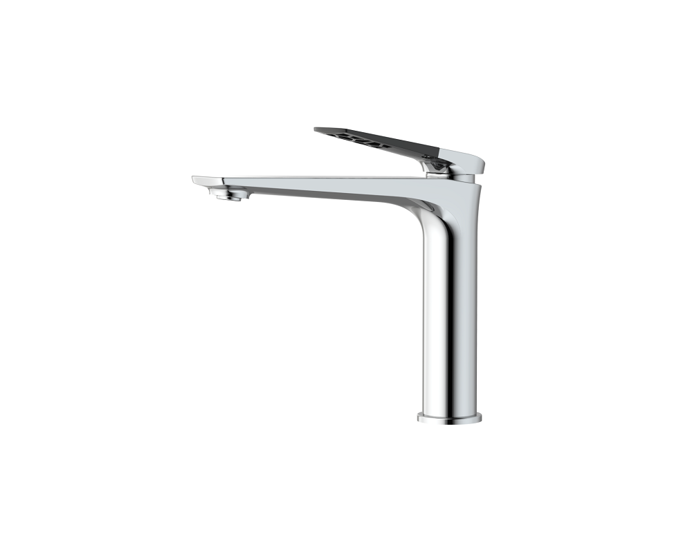 China Supplier Chrome Brass Wall Mounted Single Lever Basin Mixer