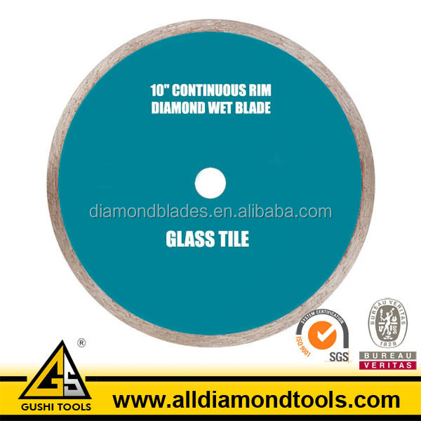 High Quality 10 Inch Diamond Saw Blade for Glass