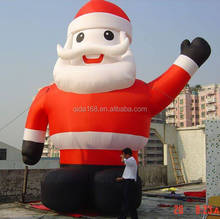 Factory price 25 ft Christmas Inflatable Santa/ inflatable santa claus/ Outdoor Inflatable Character Santa Model for advertising