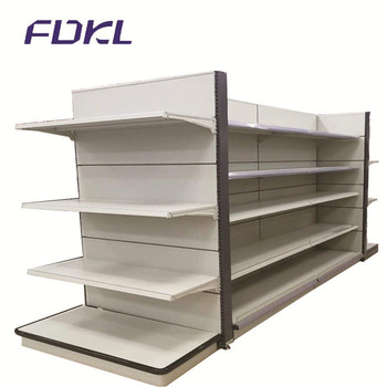 Hot sale supermarket store steel display stand shelves