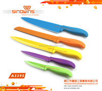 Beautiful Colorful Non-stick kitchen knife with ABS Handle
