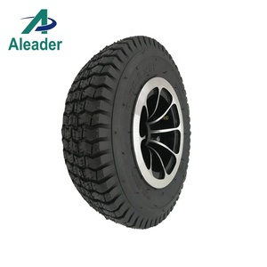 Aluminum Wheelchair Wheel 13x5.00-6 Solid Tire