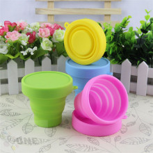 New Arrival Travel Collapsible Drinking Coffee Silicone Heel Cup Set