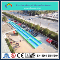 2015 cheap durable 1000 ft slip n slide inflatable slide the city for water game
