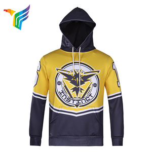 Factory Wholesale Custom Sublimation Printing Long Sleeve Sports Hoodie For Men
