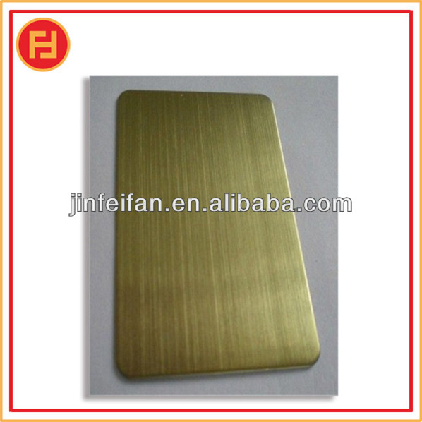 best price 304 hairline stainless steel board