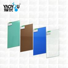 Customized various sizes color tinted float glass