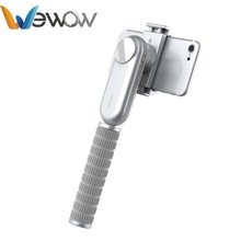 Original Wewow Fancy Silver Gimbal Stabilizer for iphone 7 6s and Similar phone video