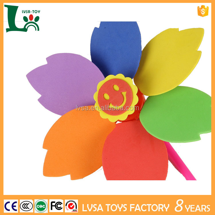 Best selling products Colorful Plastic Toy Windmills for Child