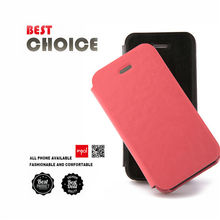 Catalogue Premium leather flip case for apple iphone 4 accessories for office lady