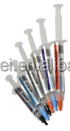 Silicone thermal grease grey color 1.93W for high thermal conductivity graphite and powder