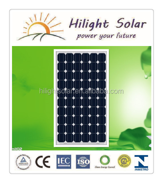 2014 Hot Sales Cheap Price High Capacity Solar Panels/solar Module/pv Module with Tuv Iec Ce Cec Iso Inmetro