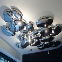 High Quolity Suspension Silver Ceiling Light with LED