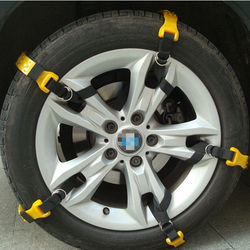 Universal 12mm rubber kn type tire truck steel snow chains