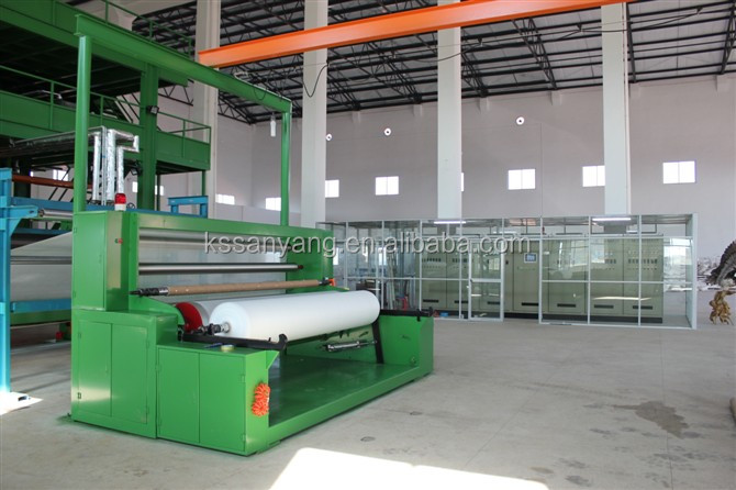 Automatic High Speed PP Nonwoven spunbond production line for nonwoven fabric making machine-1.6m SMS