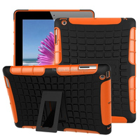 New arrival Rugged Hard Robot Back Cover Stand Holder kickstand stand case for ipad 2 3 4 china price
