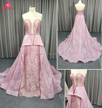 2018 haute couture Mermaid Wedding gown dresses long gown with beads by handmade /customized bridal gown dress
