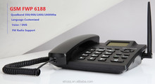 Etross 6188 SMS Supported GSM Cordless Phone