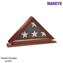 MKY Military Wood Flag Cases
