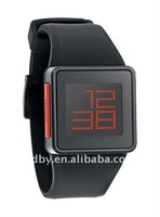 Touch screen !!! hot silicone digital watch