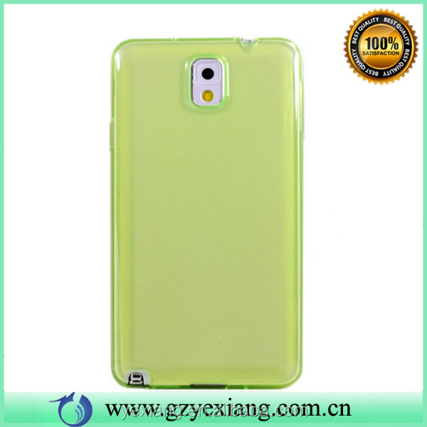 Colorful Jelly TPU Case 3d Case For Samsung Galaxy Note 3 Cover Case