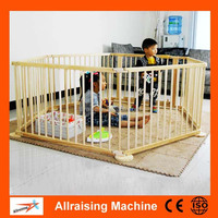 Safety Care Wood Large Playpen For Babies