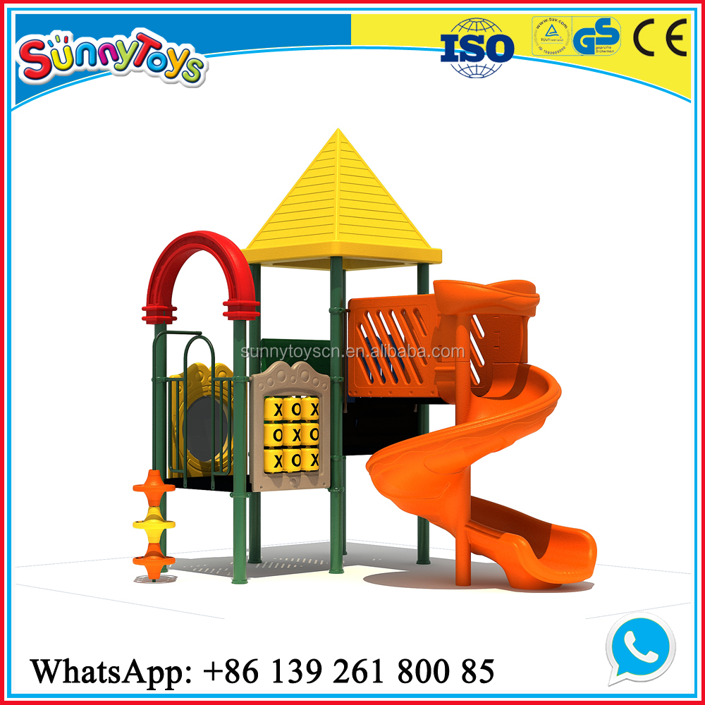 Sunny Toys kids park plastic material small kids outdoor playground slide ST-L002A