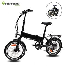 "fat tire foldable electric bike/20"" mountain folding e bike/500w big power fatbike electric 500w 48v KCMTB022"