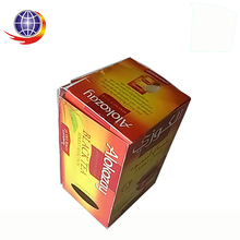 Colorful printed recycle custom paper cylinder cigarette and tea box