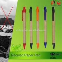 Friendly Recycle Paper Pen for school