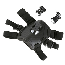 Fetch Dog Harness Belt Mount Chest Strap for GoPros Hero5 3 4 SJCAM SJ4000 SOOCOO H9 Pet Go Pro Accessory