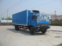 12T-15T 4x2 cargo van truck, food box van truck,refrigerator cooling van for sale