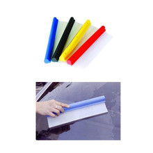 2017 Popular window silicone blade/water blade/car silicone squeegee
