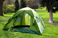 DETACHABLE DOUBLE LAYER WATERPROOF FAMILY OUTDOOR CAMPING TENT
