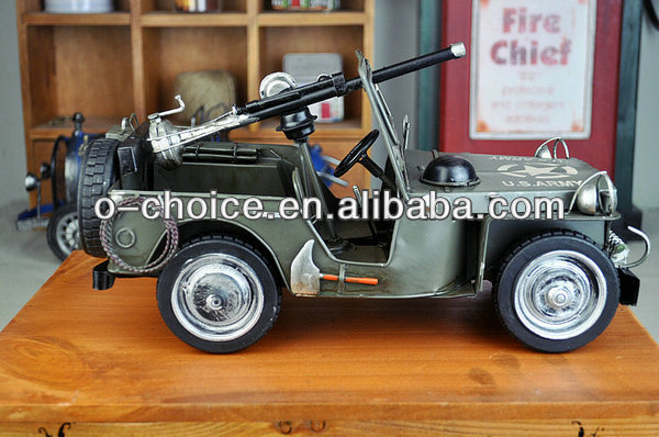 T-17 Most popular antique small metal toy model cars home decor
