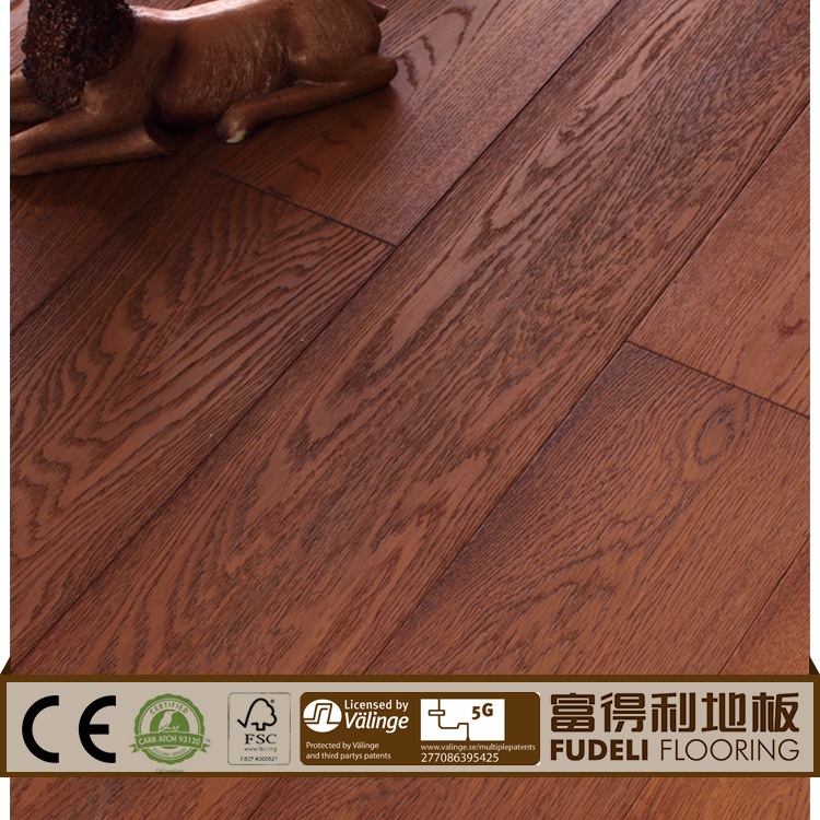 The beautiful design acacia walnut engineered flooring