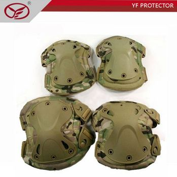 Tactical sport knee pads and elbow pads Protection 4piece/Set use